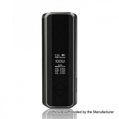 Authentic Hotcig G100 100W 18650/20700/21700 TC VW Variable Wattage Box Mod - Gray
