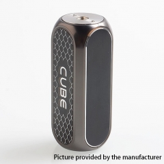 Authentic OBS Cube 80W 3000mAh VW Variable Wattage Box Mod - Gun Metal