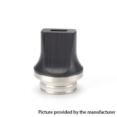 Coil Father Replacement 810 Flat Drip Tip 1pc - Black