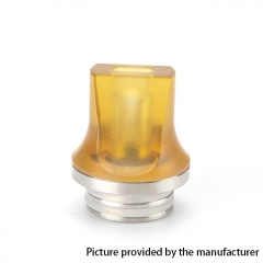 Coil Father Replacement 810 Flat Drip Tip 1pc - Yellow