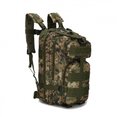 Outdoor Tactical Backpack 600D Nylon Waterproof Camouflage Trekking Rucksack - Digital Jungle