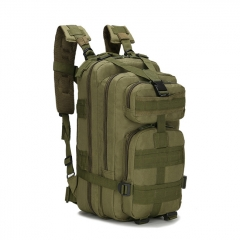 Outdoor Tactical Backpack 600D Nylon Waterproof Camouflage Trekking Rucksack - Army Green
