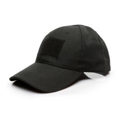 Baseball Hat Cabbie Cap - Black
