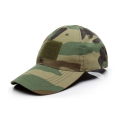 Baseball Hat Cabbie Cap - Green Camo