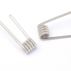 Coil Father Pre-built NI80 Coils 26GA*2+38GA 0.3ohm 3mm 10pcs - N01