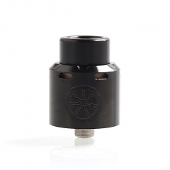 Authentic Asmodus Blank 24mm RDA Rebuildable Dripping Atomizer w/ BF Pin - Black