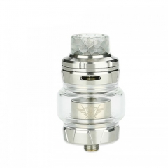 Ample Crypto 24mm Sub Ohm Tank Clearomizer 5ml - Silver