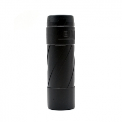 El Th V3 Style 18650/20700/21700 Hybrid Mechanical Mod 24mm - Black