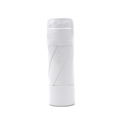 El Th V3 Style 18650/20700/21700 Hybrid Mechanical Mod 24mm - White