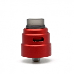 Reload S Style 24mm RDA Rebuildable Dripping Atomizer w/BF Pin - Red