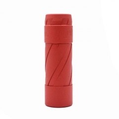 El Th V3 Style 18650/20700/21700 Hybrid Mechanical Mod 24mm - Red