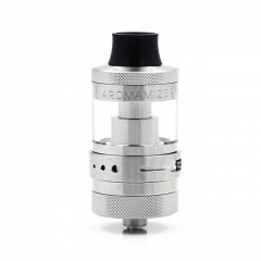 Authentic Steam Crave Aromamizer Lite RTA 23mm Rebuildable Tank Atomizer 3.5ml/4.5ml - Silver