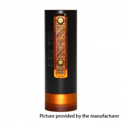 Vazzling Pur Slim Piece 18650 Hybrid Mechanical Mod 25mm/26mm - Black