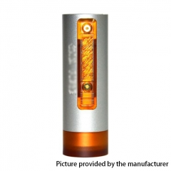 Vazzling Pur Slim Piece 18650 Hybrid Mechanical Mod 25mm/26mm - Silver