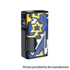Authentic Wismec LUXOTIC SURFACE 80W 18650 TC VW APV Squonk Box Mod w/6.5ml Bottle - Unistar