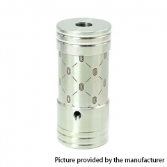 SXK Corinne Style 22mm Hybrid 18350 Mechanical Tube Mod - Silver
