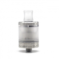 (Ships from Germany)Vazzling Dvarw V2 Style 22mm 316SS MTL RTA Top Filling 2ml - Silver