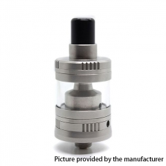 Gem Light Mini Gem LM 316SS 22mm Style RTA Rebuildable Tank Atomizer 2ml - Silver