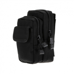 Outdoor Tactical Waistbag Nylon Waterproof X-2 - Black