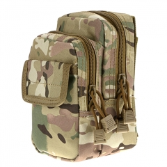 Outdoor Tactical Waistbag Nylon Waterproof X-2 - Jungle Camo