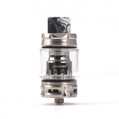 Authentic Advken Dark Mesh 25mm Sub Ohm Tank Clearomizer 5ml/6ml/0.15ohm - Silver