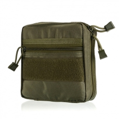 Outdoor EDC Tactical Nylon Storage Bag - Army Green