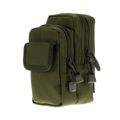 Outdoor Tactical Waistbag Nylon Waterproof X-2 - Army Green