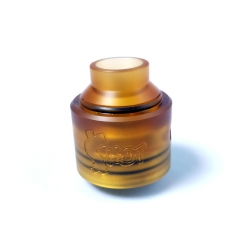 Shot Style 30mm RDA Rebuildable Dripping Atomizer - Yellow