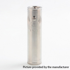 Scarab Pro Max Style 316SS 18650/21700 Mechanical Tube Mod Updated Version - Silver