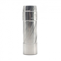 El Th V3 Style 18650/20700/21700 Hybrid Mechanical Mod 24mm - Silver