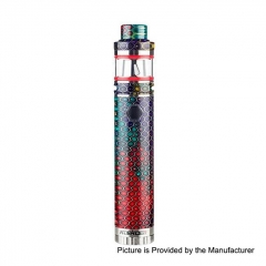 Authentic Aleader Mamba Semi-Mechanical Mod 18650 Kit 2ml/0.4ohm/0.15ohm - Rainbow