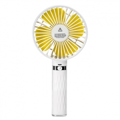 Outdoor Mini HandHeld USB Charging Fan SAPI S8 Portable Fan - White