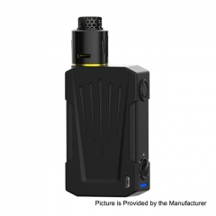 Authentic Teslacigs Invader 4X 280W VV Variable Voltage Box Mod + Invader 4X RDA Kit - Black