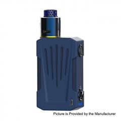 Authentic Teslacigs Invader 4X 280W VV Variable Voltage Box Mod + Invader 4X RDA Kit - Blue