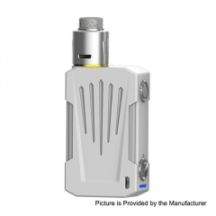 Authentic Teslacigs Invader 4X 280W VV Variable Voltage Box Mod + Invader 4X RDA Kit - White