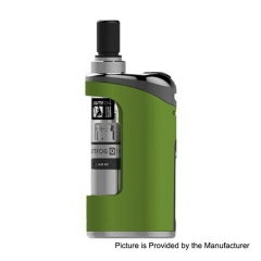 Authentic Justfog Compact 14 12W 1500mAh Battery Starter Kit 1.8ml/ 1.6 Ohm/1.2 Ohm - Green