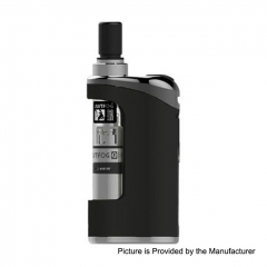 Authentic Justfog Compact 14 12W 1500mAh Battery Starter Kit 1.8ml/ 1.6 Ohm/1.2 Ohm - Black