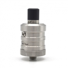 ULTON FEV BF1 Squonker 23mm 316SS RDA Rebuildable Dripping Atomizer w/BF Pin (No Logo) - Silver