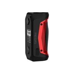 Authentic Geekvape Aegis Solo 100W TC Temperature Control Box Mod - Red