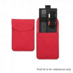 Vivismoke Pocket Case Portable Mini Slim Pocket Case for Pod Vape Devices - Red