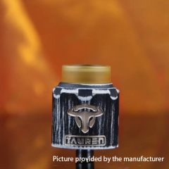 Authentic Thunderhead Creation THC Tauren RDA 24mm RDA Rebuildable Dripping Atomizer w/BF Pin - Volcano Gray