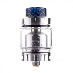 Authentic Hellvape Rebirth 25mm RTA Rebuildable Tank Atomizer 2ml/5ml - Silver