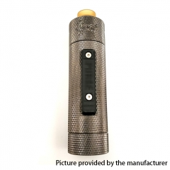 Vazzling Pur Slam Piece 30mm 18650/20700/21700/20650 Hybrid Mechanical Mod (Knurling Version) w/Shot RDA - Gun Metal