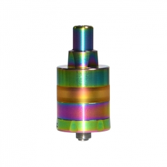 KF Lite 2019 Style 22mm RTA Rebuildable Tank Atomizer 2ml - Rainbow