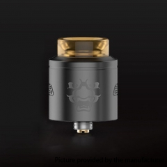 Authentic Geekvape Tengu 24mm RDA Rebuildable Dripping Atomizer w/ BF Pin - Gun Metal