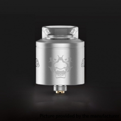 Authentic Geekvape Tengu 24mm RDA Rebuildable Dripping Atomizer w/ BF Pin - Silver