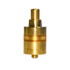 KF Lite 2019 Style 22mm RTA Rebuildable Tank Atomizer 2ml - Gold