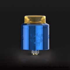 Authentic Geekvape Tengu 24mm RDA Rebuildable Dripping Atomizer w/ BF Pin - Blue