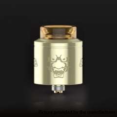 Authentic Geekvape Tengu 24mm RDA Rebuildable Dripping Atomizer w/ BF Pin - Gold
