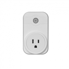 Smart WiFi Socket Charging Port Remote Control WiFi Wireless Mains Connection Home Plug (US Version) - White